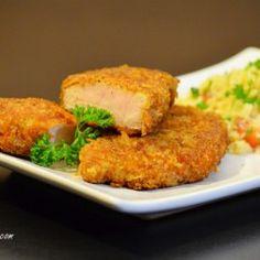 Parmesan Panko Pork Chops Recipe - want to try b.c pork chops get so boring