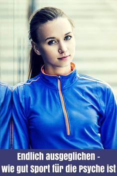 Es ist unglaublich, wie gut Sport für die Psyche ist. Er fördert deine Gesundheithilft dir, im Leben einfach ausgeglichener zu seun - ein echtes Wundermittel eben.... Cardio Training, Mental Training, Laufen Im Winter, Fitness Motivation, Yoga Fitness, Athletic, Workout, Sports, Tricks