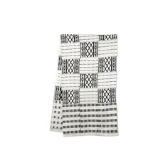 NOVICA Authentic 18-in Width Black and White Kente Cloth Scarf ($111) ❤ liked on Polyvore featuring accessories, scarves, black and white, clothing & accessories, african scarves, black and white shawl, woven scarves, african print scarves and novica
