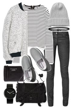 """""""Untitled #19185"""" by florencia95 ❤ liked on Polyvore featuring moda, Acne Studios, Zara, MANGO, Monki, Abercrombie & Fitch, Proenza Schouler, Linea Pelle e Alessi"""