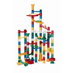 ****GOT THIS**** --- keane or both} Marble Run: 123 Piece Set durable pieces and 20 marb. Power Rangers, Toys For Boys, Kids Toys, Baby Toys, Marble Race, Thing 1, Creative Play, Creative Thinking, Learning Toys