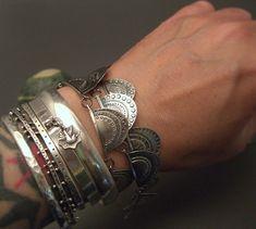 bracelets - Stacked Sterling