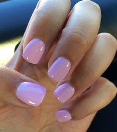 Another spring/summer color I got this season. Acrylic nails, gel polish. Color is Mod About You, OPI
