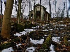 land of death - an abandoned morgue at the old abandoned cemetery