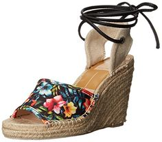 DV by Dolce Vita Women's Sophia Espadrille Sandal, Tropical Floral, 9.5 M US -- Find out more about the great product at the image link.