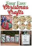 4 Easy Christmas Craft Projects