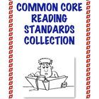 The Common Core Reading Collection contains TWENTY different multi-page reading printables and 60 full pages of student work for Grades 3-5. $