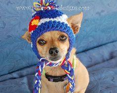 Navidad Grinch perro Hat gorro de perro del por poshpoochdesigns