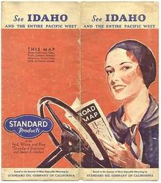 See Idaho and the Pacific West. San Francisco: Rand McNally and Company for Standard Oil Company, 1931.