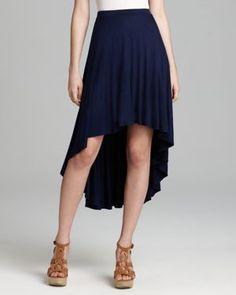 Aqua Skirt - Jersey High Low
