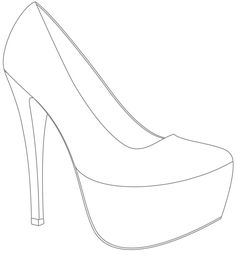 high heel shoe design template 1000 images about shoe decorations on pinterest high