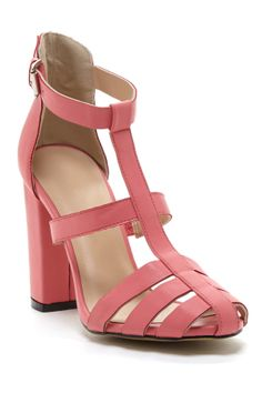 heel sandal, nola heel, color