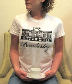 a6574be5d Pemberley shirt from Etsy shop Bookish. Haha Cortney I might have to copy  you.