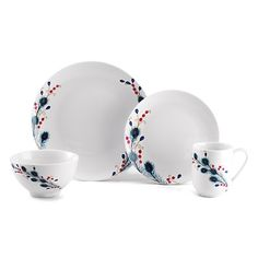Mikasa Peacock Feathers Dinnerware-- So excited...just ordered these!  LOVE the colors!