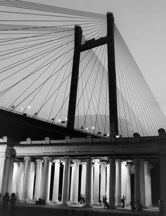2nd hooghly bridge at Princep Ghat,Kolkata by Indrarup Saha on 500px