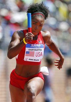 Tianna Bartoletta Tianna Bartoletta, Track And Field, Female Athletes, Get The Look, Goddesses, Olympics, Superstar, Bikinis, Swimwear