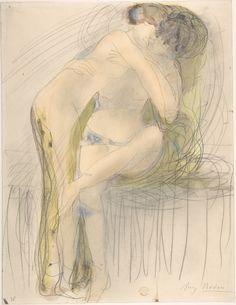 Auguste Rodin - The Embrace, c. 1900