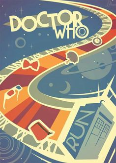 """Another work for my decorative painting classes This time it's poster dedicated to my favorite TV series """"Doctor Who"""" Doctor Who poster Poster Doctor Who, Doctor Who Fan Art, Bbc Doctor Who, Eleventh Doctor, Doctor Who Wallpaper, Tardis Wallpaper, Wallpaper Space, Serie Doctor, Fanart"""