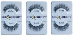 Red Cherry Eyelashes 747m (3 Pair Packs) * More info could be found at the image url.