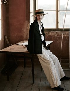 Photography:Tomas Falmer Styled by:Giulia Bassi Hair: Peter Avento Makeup:Regina Törnwall Model:Hedvig Palm