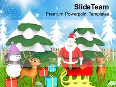 Christmas Clip Art Religious Theme Holidays Powerpoint Templates Ppt For Slides #PowerPoint #Templates #Themes #Background