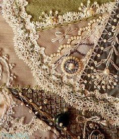 I ❤ crazy quilting, beading & embroidery . . .