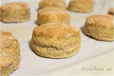 Wicked Yummy: Healthy Whole Wheat Biscuits
