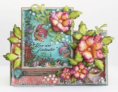Designs by Marisa: Heartfelt Creations - You Are Fintastic Card