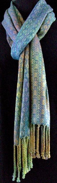 Handwoven Scarves - Lucy Slykerman - Handwovens and Textile Arts