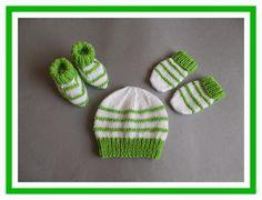 marianna's lazy daisy days: Garter Stitch Ridge Baby Set