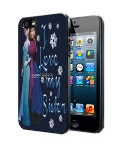 Disney frozen sister love Samsung Galaxy S3 S4 S5 Note 3 Case, Iphone 4 4S 5 5S 5C Case, Ipod Touch 4 5 Case