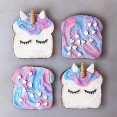 Unicorn Brekky Toasts These are almost too cute to eat @naturally.jo Change up the spreads on your toasts by adding 1/2 tsp of our superfood powders with coconut yoghurt both nutritious and delicious Shop our superfoods here: https://www.unicornsuperfoods.com/collections/all