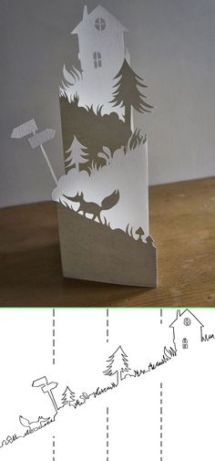 3d Paper Art, Paper Tree, Paper Crafts Origami, Paper Engineering, Cricut Cards, Pop Up Cards, Paper Design, Paper Cutting, Art For Kids