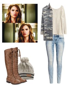 Malia Tate - tw / teen wolf by shadyannon on Polyvore featuring H&M, Forever 21, Blowfish and Billabong