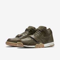 0f3b8e8f51a49 Nike Air Trainer 1 Mid - Dark Loden   Gum Light Brown - Light Bone - Dark  Loden