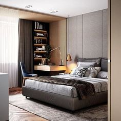 Fabulous 9 modern and stylish bedroom design ideas 3 « A Virtual Zone Modern Master Bedroom, Modern Bedroom Furniture, Stylish Bedroom, Modern Bedroom Design, Minimalist Bedroom, Contemporary Bedroom, Home Decor Bedroom, Interior Design Living Room, Bedroom Ideas