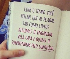 Blogue do Lado Avesso: Pessoas são livros...