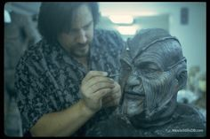 '''Brian Penikas''' The Man Behind The FX work on The Creeper and allot more of your favorite Movies. Horror Movie Characters, Horror Movies, Ray Wise, Jeepers Creepers, Scene Photo, The Man, Behind The Scenes, Creepy