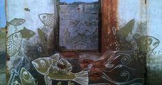 graffiti a Khuzhir, Olkhon island, Russia