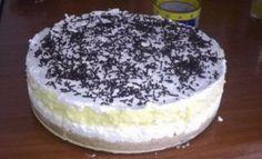 """Čtyřpatrový """"nebeský"""" dort bez vaření a bez pečení recept – magnilo Thing 1, Vanilla Cake, Tiramisu, Cheesecake, Food And Drink, Keto, Cookies, Ethnic Recipes, Desserts"""