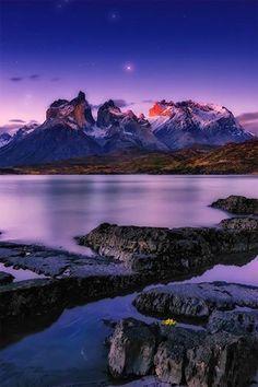 Salto Grande by Greg Boratyn - Torres del Paine National Park, Chile.