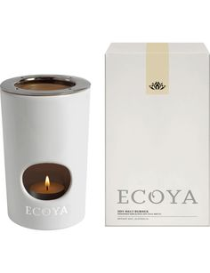 Ecoya White Ceramic Oil Burner