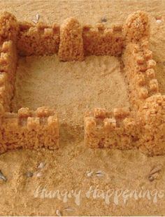 This Caramel Rice Krispies® Treat Sandcastle is the perfect summer treat to make when all your family can think about is vacation. Or, keep the kids entertained with this creative recipe if the rain keeps you all stuck inside at the beach!