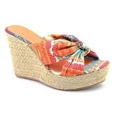 70e42aba026 Mia Girl Rita Women Open Toe Canvas Wedge Heel   You can find out more  details