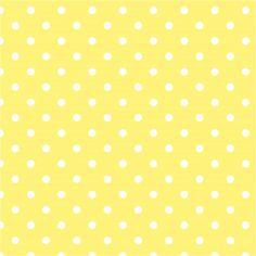 Fundo amarelo do às bolinhas