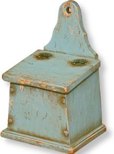 Blue Saltbox...still on my 'looking for' list!