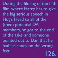 harry potter facts 126