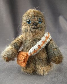 Crochet-Chewbacca - Star Wars Mini Amigurumi Pattern $3.50