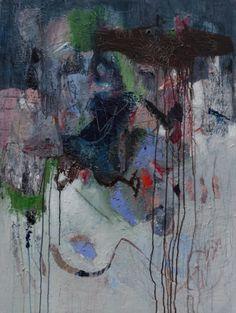 Acrylic on Canvas 32 by 40 Artist Leslie Newman