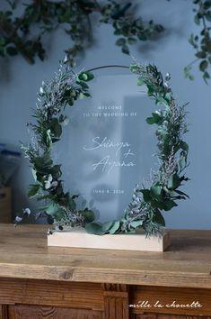 Wedding Signs, Wedding Cards, Wedding Invitations, Diy Wedding Backdrop, Wedding Decorations, Wedding Welcome Board, Garden Wedding, Dream Wedding, Ring Holder Wedding